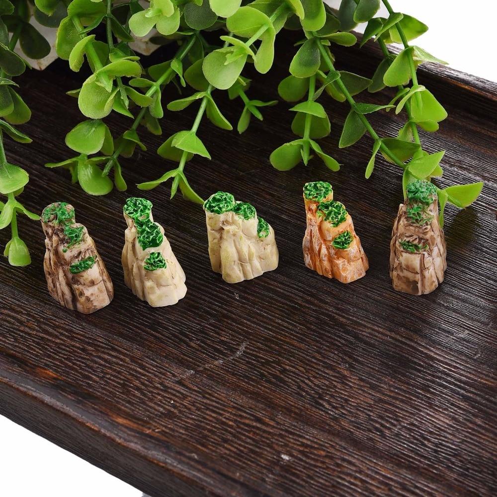 Fashion mini mountain toys bonsai ornaments plant for Home garden accessories