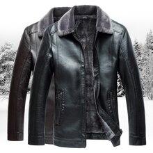2019 Winter Men's Leather Jacket,fashion Men's Business Jackets