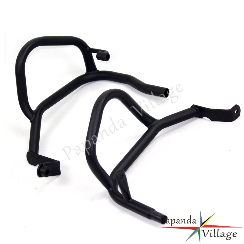 Motorbike Black Frame Engine Crash Bars Motor Extension Frame Engine Guard Protector For Honda CB500X 2013 UP CB500F 2013 2017 in Covers Ornamental Mouldings from Automobiles Motorcycles