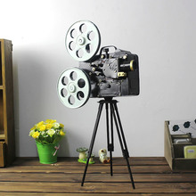 Retro Video Recorder Camera Model Photography Props Vintage Furniture Handicraft Antique Dollhouse Garden Ornament