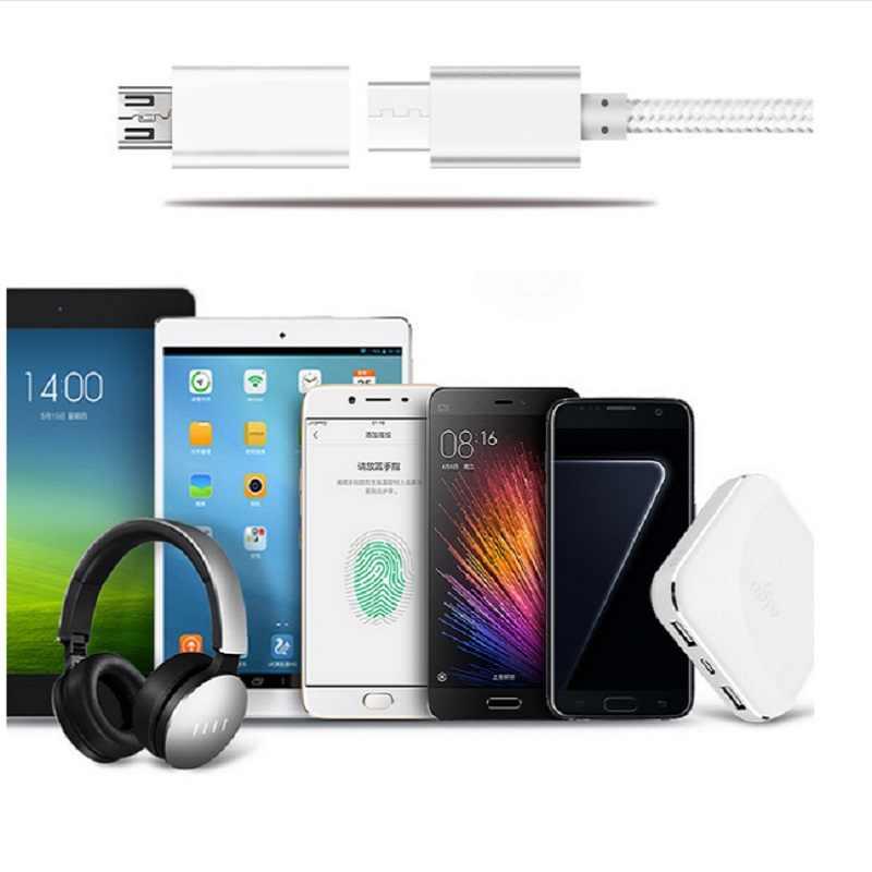Loại C Sang Micro USB Nam Kết Nối Adapter Kết Nối Loại C Thiết Bị Micro Thiết Bị USB Dành Cho Samsung Galaxy Samsung Galaxy s7 Edge