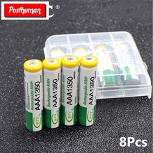 POSTHUMAN – batterie Rechargeable 8x1350mah Ni-MH AAA 1.2V, LR03, pour Xbox 360, PS3, Nintendo Wii, appareils photo MP3