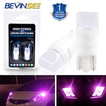 Bevinsee T10 2886X 194R 161B 3652 193 2835-SMD чипы светодиодный светильник лампы для автомобилей Ford F-150 2004 номерного знака автомобиля лампа Парковка Тай светильник лампочка