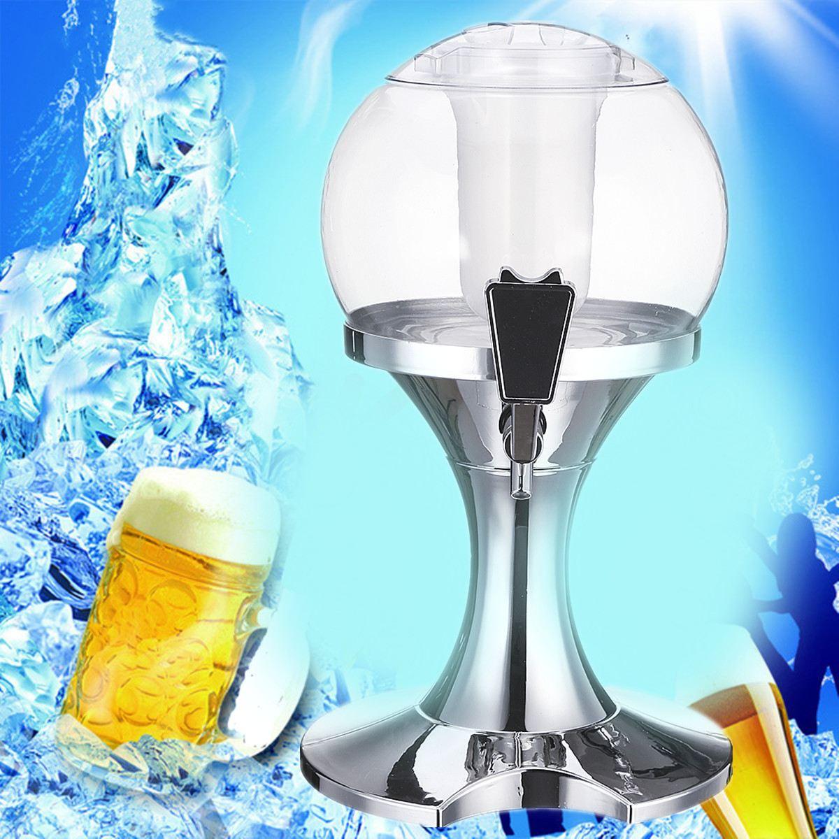 3.5L Whiskey Juice Pourer Bar Ice Core Beer Beverage Party Dispenser ...