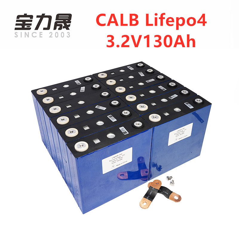 16 pièces CALB nouveau 3.2V 130Ah LiFePO4 batterie pas 24V120Ah pour 48V solaire US/EU/UK/AU/RU sans taxe UPS ou FedEx livraison rapide gratuite