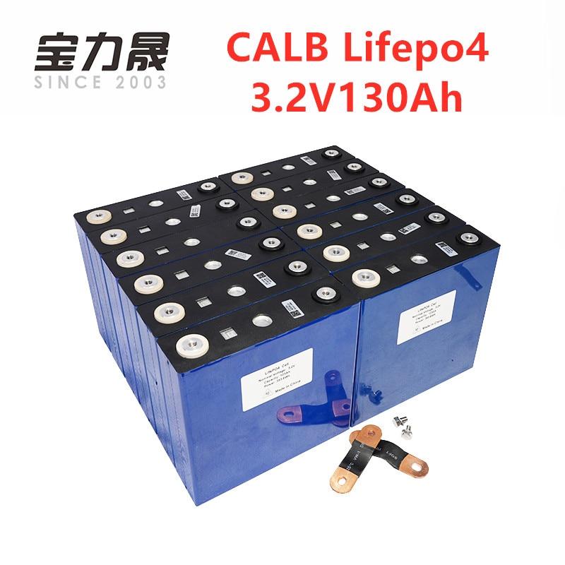 16PCS CALB Nuovo 3.2V 130Ah LiFePO4 BATTERIA NON 24V120Ah Per 48V Solare US/EU/UK //AU/RU Tassa Libera di UPS o FedEx trasporto veloce libero