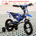 "16"" Motorcycle Vocalization Bicicleta Infantil Mountain Bikes for Child Buggiest Mdash Pedal Child Kids Bicycle Toy Car 4 Colors"