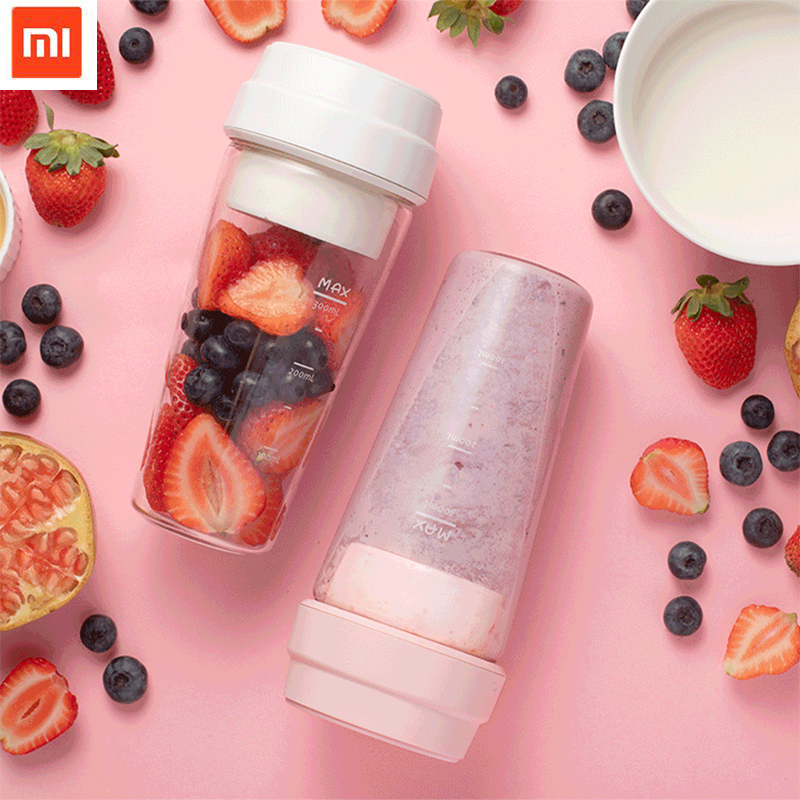 NEW Xiaomi 17PIN Star Firut Cup Portable Small Juicer 400ML Fruit Cup Magnetic charging 30 Seconds