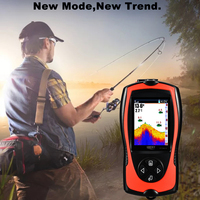 Lucky FF1108 1CT Portable Sonar Detecting Fish Finder With Wired Echo Adapter For Underwater Ice Fishing