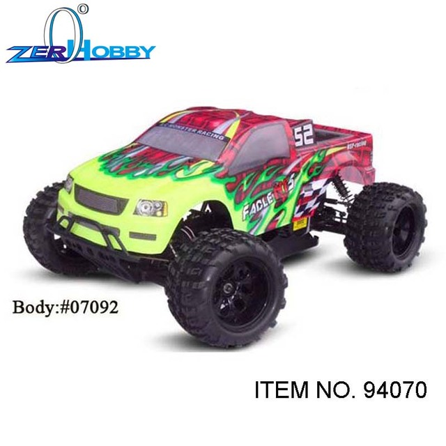 Hsp Rc Truck Nitro Gas Power Off Road Monster Truck 94188: RC CAR TOYS HSP FACLE NT 5 GAS MONSTER TRUCK 1/5 SCALE 4X4