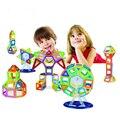 114 unids mini ladrillos de construcción bloques de construcción magnética juguetes educativos diy creativo plástico ladrillos bloques magnéticos niños juguetes