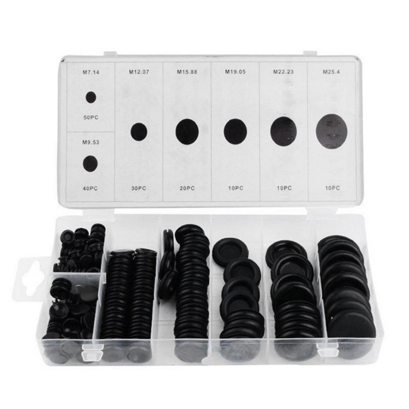 170 Rubber Grommet Assortment Firewall Hole Plug Set Electrical Wire Gasket Kit170 Rubber Grommet Assortment Firewall Hole Plug Set Electrical Wire Gasket Kit
