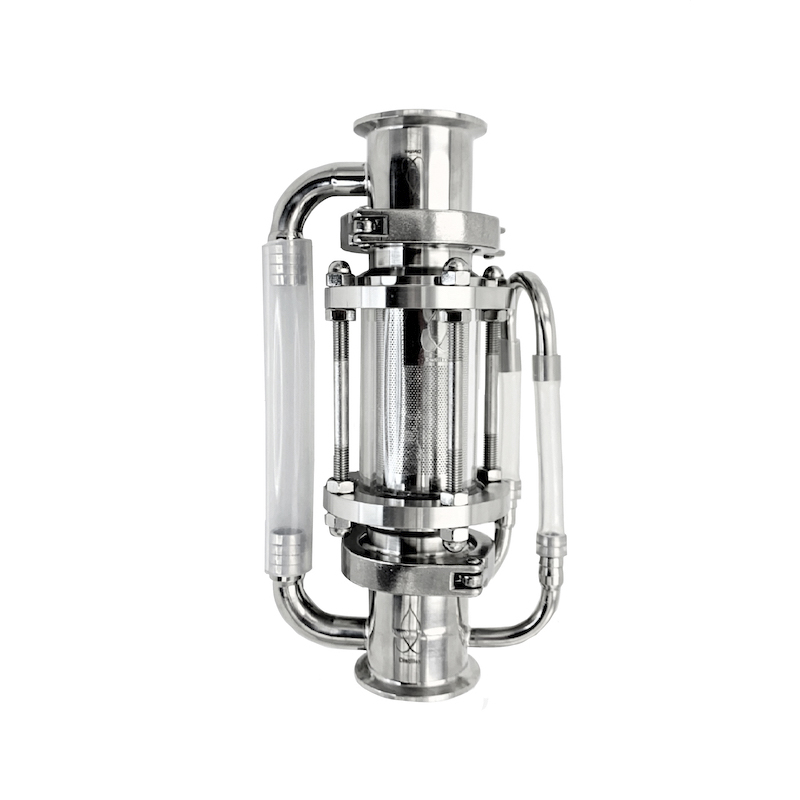 "2"" 51mm OD64mm Soxhlet Extractor For Distillation. Basket Volume 225ml. Stainless Steel 304"