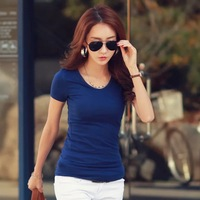 2018 new casual women's popular special casual t shirt YJ141
