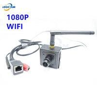 Onvif 1080P HD Mini Wifi IP Camera Wireless P2P Plug Play Mini SIZE 40x40mm Wifi Pinhole
