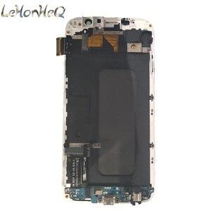 Image 2 - Para Samsung Galaxy S6 G920F G920I LCD Screen Display Toque Digitador Assembléia Para Samsung S6 G920FD G920FQ LCD com quadro