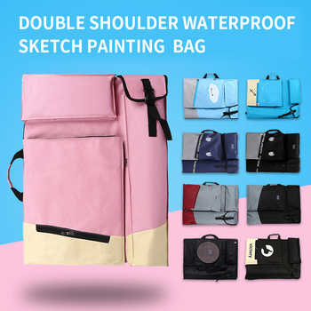 BGLN Painting Bag Waterproof 4K Portable Painting Board Bag Smiling Drawing Bag Tablet Painter Board Carrying Sketchpad Bag - DISCOUNT ITEM  10% OFF All Category
