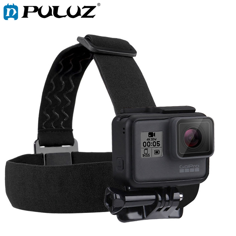 PULUZ for Go Pro Accessorie Elastic Head Strap Mount Belt and Chest Bet Kit For SJCAM SJ ...