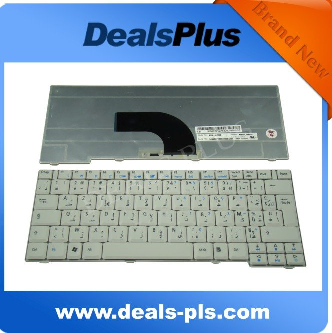 NEW For Acer TravelMate 6231 6252 6290 6291 6292 Keyboard Arabic white NSK-A9V2A