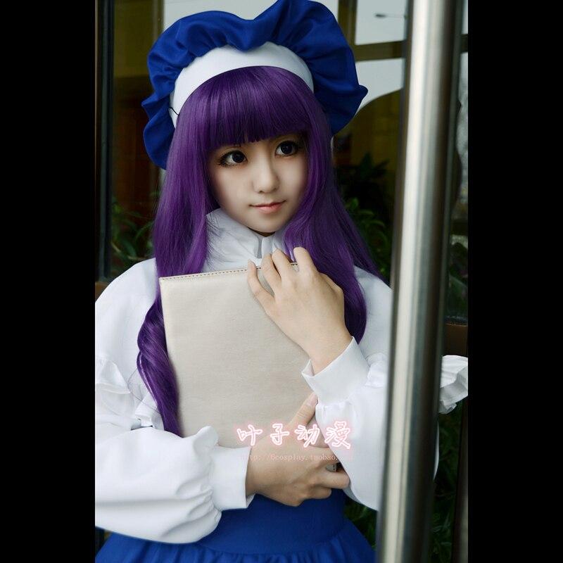 Japon Anime Cardcaptor Sakura Tomoyo Daidouji Lolite Costume robe Cosplay Costume Kawaii fille Halloween Costumes complets Costumes - 3