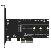 PCI-Express PCI-E 3,0X4 к M.2 NGFF M ключ слот конвертер адаптер карта M2 Nvme PCIE SSD Riser Card для настольного компьютера Поддержка 2230 22