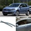 New 4pcs Blade Side Windows Deflectors Door Sun Visor Shield For VW Golf 6 2010-2012