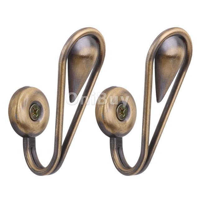 Gardinen Raffhalter neue heiße verkauf tränenform bronze vorhang gardinen raffhalter tür