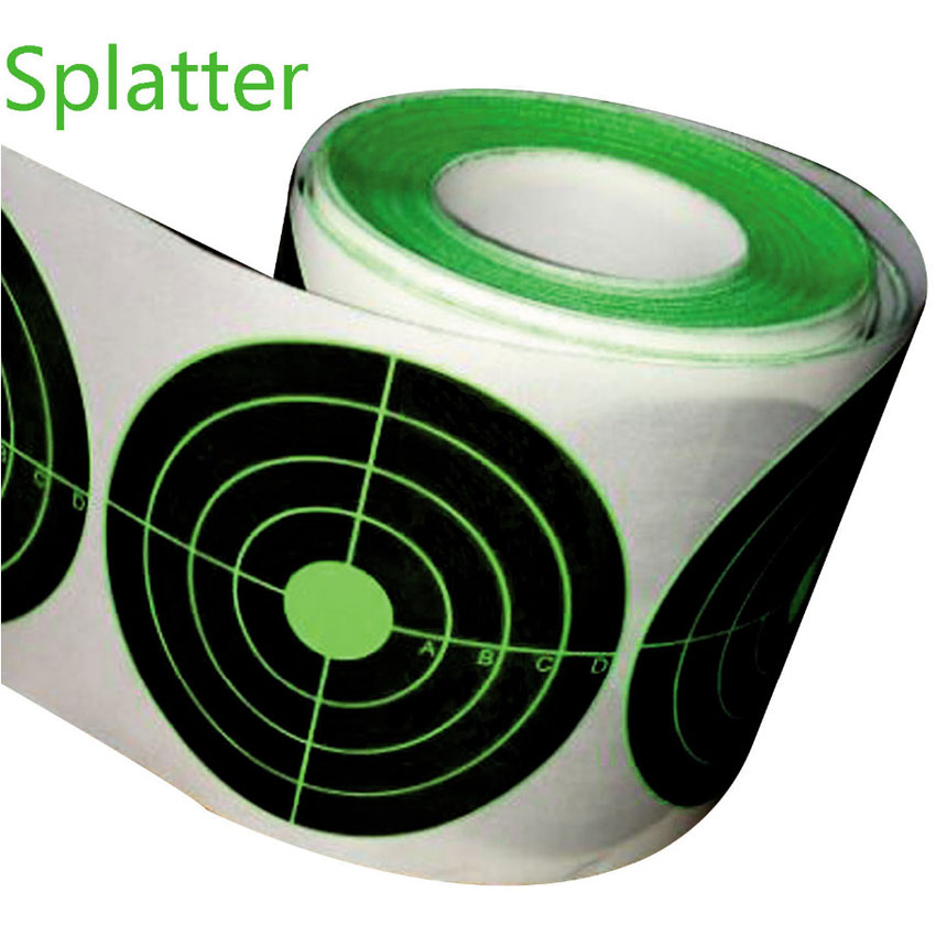 Target Stickers Qty 250pcs 3 Splatter Target Sticker Instantly See Your Shots Burst Bright