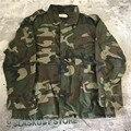 Новейшие Страх Божий Ветровка Военный Камуфляж Старинные Хлопок подкладка Куртки