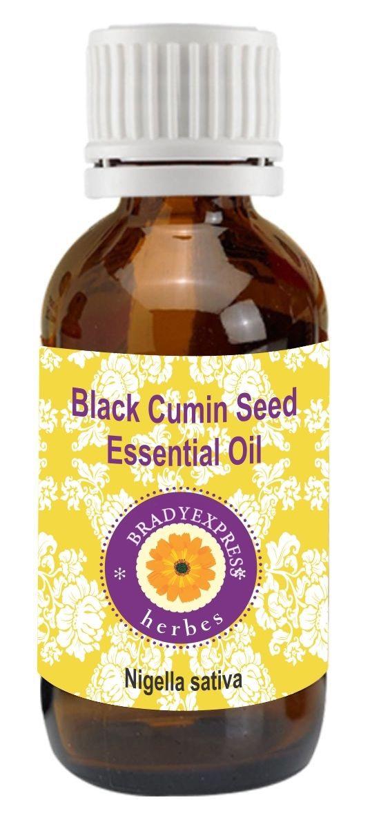 FRee Shipping Pure Black Cumin Seed Essential Oil (Nigella Sativa) -100% Natural Therapeutic G  5ML