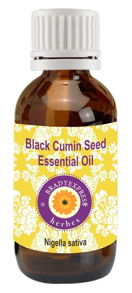 Livraison gratuite huile essentielle de graines de Cumin noir pur (Nigella sativa)-100% thérapeutique naturelle G 5 ML