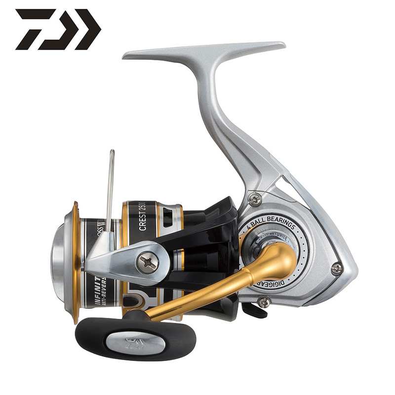 DAIWA Original CREST A 2000A 2500A 3000A 4000A Spinning 5 3 1 4BB Spinning Fishing Reel