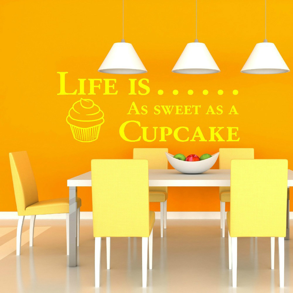 Perfect Cupcake Canvas Wall Art Composition - The Wall Art ...