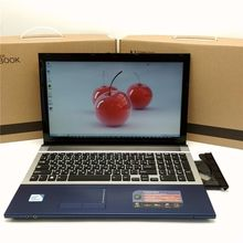15.6 inch gaming laptop notebook computer Wtih DVD 8GB DDR3 500GB+128G SSD intel J1900 OR i7 CPU WIFI webcam HDMI