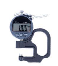 0.01 мм Циферблат Электронный Толщиномер 0-0.12.7mm Портативный Цифровой Циферблат Толщиномер Высокое Accuracy10mm * 0.01 и Вывода Данных