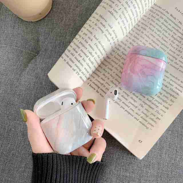 Case For Original Apple Airpods Case Marble Cute Cover For Apple Airpods 2 1 Case Accessories Headphones Air Pods Case Box Coque 5