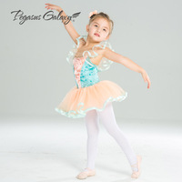 Female Ballerina Dance Clothes Women Leotards Ballet Gymnastics Leotard Children Ballet Costumes Flower Ballet Dress For Girls