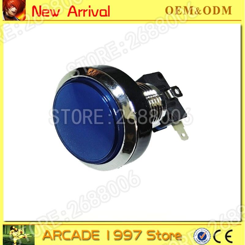 Arcade 45 MM lumineux 12 v LED ronde Arcade Bouton-Poussoir avec micro bouton pour arcade machine machine de loisirs