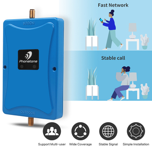Image 2 - 2019 NEW mobile phone Dual ALC 3G GSM Signal Repeater 900MHz UMTS 2100MHz 2G 3G Band 8/1 Dual Band Cell Phone Signal Booster #50