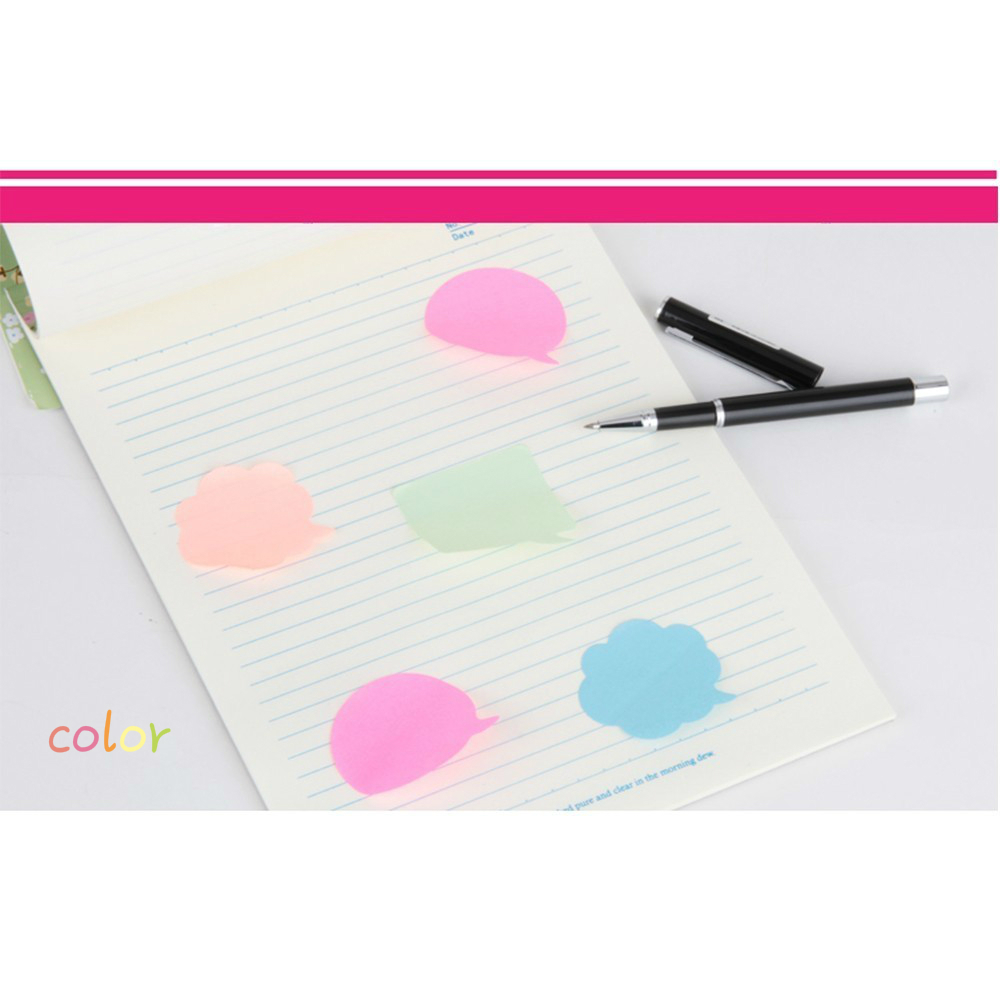 BPColor notes, note paper, instant message paper memo pad kawaii notepad stickers WJ-BQB3 PUHUO5 lovely notepad fold folder memo note scratch pad doodle message book w pen stationery
