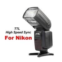 Zomei ZM 580T Auto Focus TTL High Sync Speed Flash Speedlite Speedligt Flash with Radio Slave for Nikon DSRL Cameras