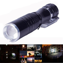 Bicycle Front Head Torch 7W XPE-Q5 LED 14500 AA Mini Flashlight Lamp Light Outdoor Cycling Camping Bike Accessories Black