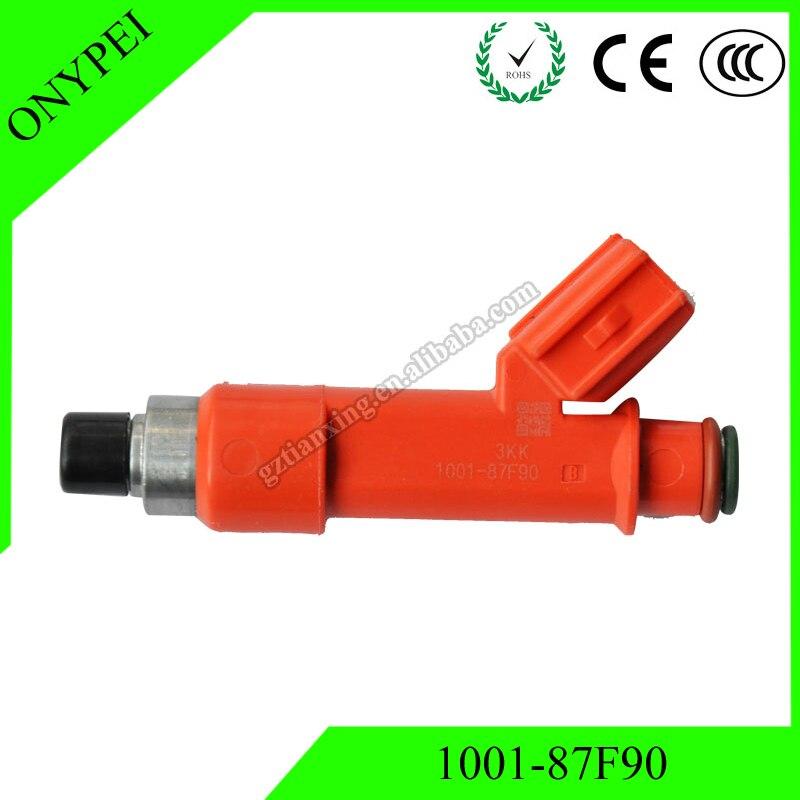 OE # 1001-87F90 Vstřikovací ventil paliva 850cc pro Toyota Celica 1.8 1ZZFE 2ZZGE Lotus Exige 100187F90