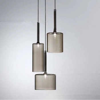 Nordic Loft Creative Glass Dining Room Pendant lights Retro Wine Bottle Cafe Lights Kitchen Bar Light Free Shipping - DISCOUNT ITEM  18% OFF All Category