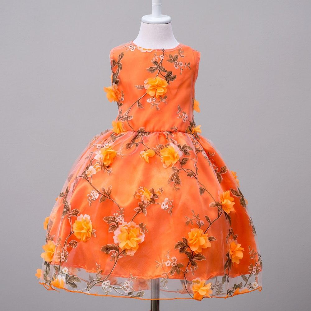 New sleeveless kids teenagers girls princess wedding dress for Cheap wedding dress costume