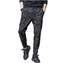 2018 high quality sweatpants Men's gasp workout bodybuilding clothing casual camouflage sweatpants joggers pants large size 5XL