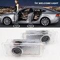 4 Компл. LED стайлинга Автомобилей Любезно Дверь Лазерный Проектор Логотип для Mercedes Benz X218 CLS W218 C218 CLS CLA, SLK, CLK E Coupe C207 A207