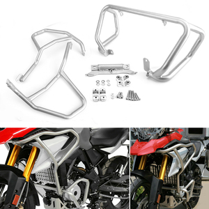 Image 1 - For BMW G310GS Engine Guard Bumpers G 310GS 2017 2018 Tank protector Upper Crash Bars Cover For BMW G310R G310 R G 310R G310 GS