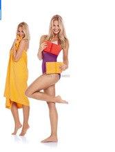 Strand towel sport towel. 75 cm * 140 cm compact travel sport camping schwimmen hand gesicht schnell trocknende