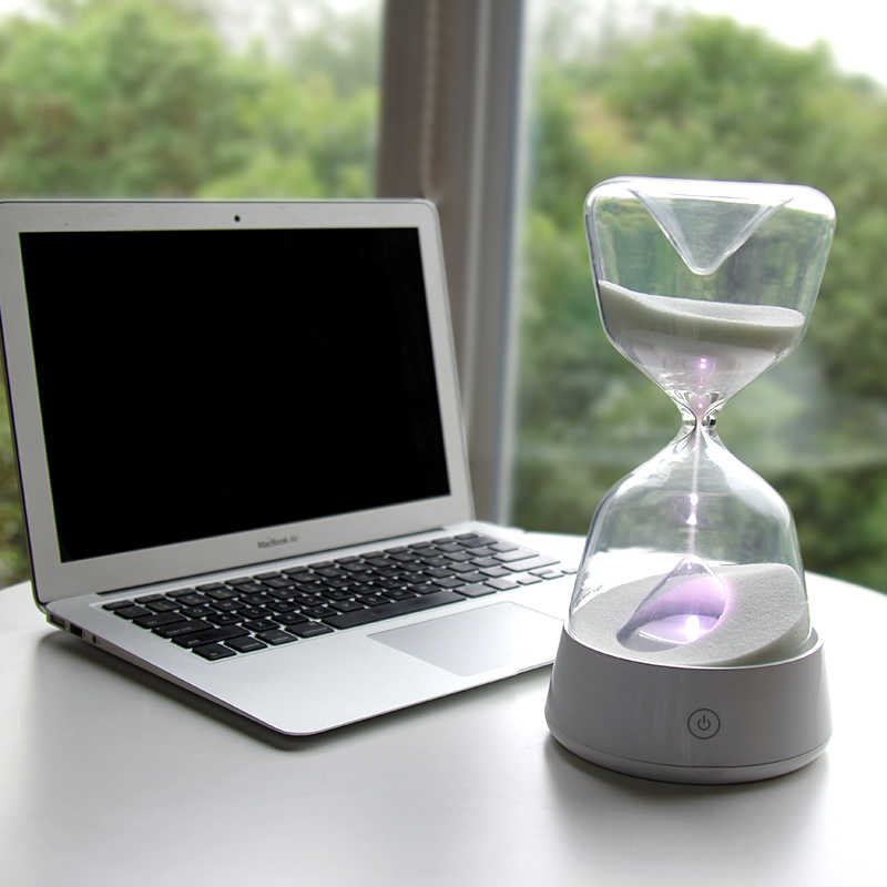 Hourglass with sleep led table lights Mbirthday gifts girls send girlfriends DIY practical gifts desk lamps ZA929406